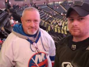 Sean attended New York Islanders vs. Colorado Avalanche - NHL on Jan 6th 2020 via VetTix