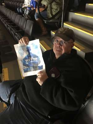 Francis attended New York Islanders vs. Colorado Avalanche - NHL on Jan 6th 2020 via VetTix