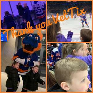 Erich attended New York Islanders vs. Colorado Avalanche - NHL on Jan 6th 2020 via VetTix