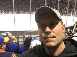 Matthew attended New York Islanders vs. Colorado Avalanche - NHL on Jan 6th 2020 via VetTix