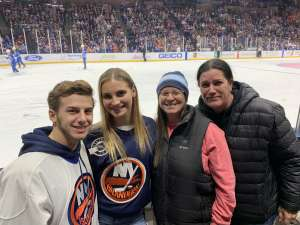 Howard attended New York Islanders vs. Colorado Avalanche - NHL on Jan 6th 2020 via VetTix