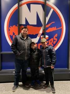Andrew attended New York Islanders vs. Colorado Avalanche - NHL on Jan 6th 2020 via VetTix