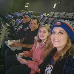 Paul attended New York Islanders vs. Colorado Avalanche - NHL on Jan 6th 2020 via VetTix