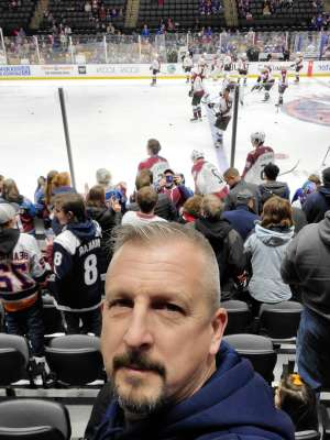 CARY attended New York Islanders vs. Colorado Avalanche - NHL on Jan 6th 2020 via VetTix