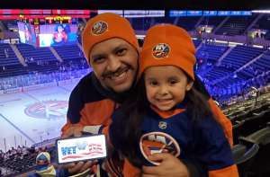Harry attended New York Islanders vs. Colorado Avalanche - NHL on Jan 6th 2020 via VetTix