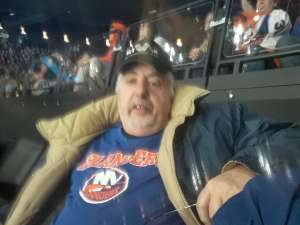 arthur attended New York Islanders vs. Colorado Avalanche - NHL on Jan 6th 2020 via VetTix