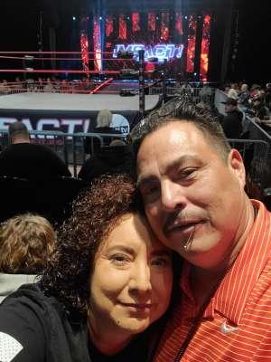 Christopher attended IMPACT Wrestling - TV Taping on Feb 8th 2020 via VetTix