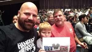 Michael attended IMPACT Wrestling - TV Taping on Feb 8th 2020 via VetTix