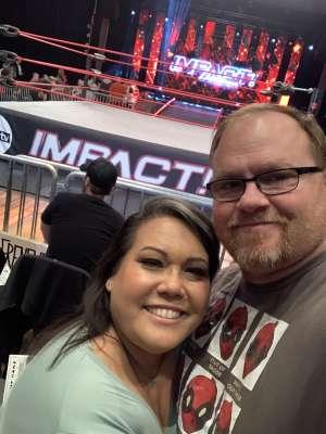 Julie attended IMPACT Wrestling - TV Taping on Feb 8th 2020 via VetTix
