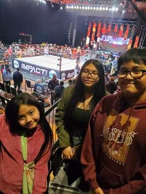 Jose attended IMPACT Wrestling - TV Taping on Feb 8th 2020 via VetTix