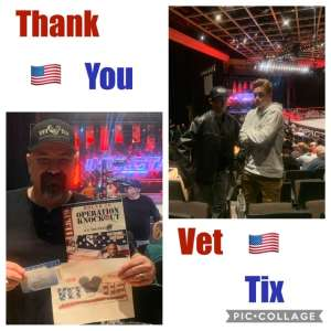 Anthony attended IMPACT Wrestling - TV Taping on Feb 8th 2020 via VetTix