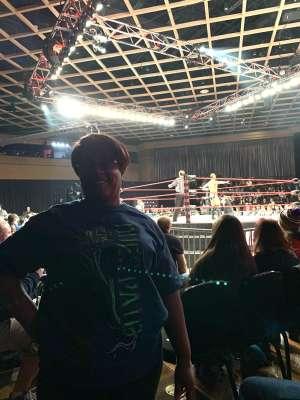 Regina attended IMPACT Wrestling - TV Taping on Feb 8th 2020 via VetTix