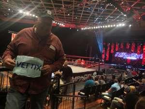Bradley attended IMPACT Wrestling - TV Taping on Feb 8th 2020 via VetTix