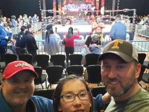 Chris attended IMPACT Wrestling - TV Taping on Feb 8th 2020 via VetTix