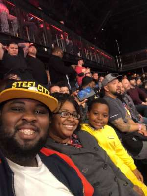 Tamarcus attended Impact Wrestling - Hard to Kill on Jan 12th 2020 via VetTix