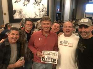 Ray-USAF Veteran  attended George Thorogood & the Destroyers on Jan 10th 2020 via VetTix
