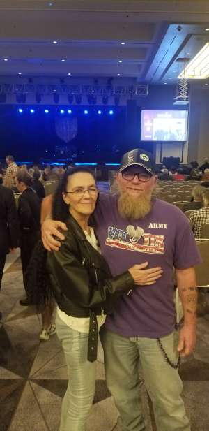 Rick attended George Thorogood & the Destroyers on Jan 10th 2020 via VetTix