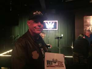 Stephen attended London Brown LIVE at the L.A. Comedy Club on Jan 10th 2020 via VetTix