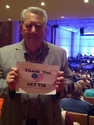 Charles attended Masters of the Musical Theater - Celebrating Lloyd Webber, Bernstein, and more! on Jan 11th 2020 via VetTix