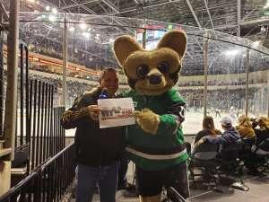 Terry attended Texas Stars vs Toronto Marlies - AHL on Jan 11th 2020 via VetTix