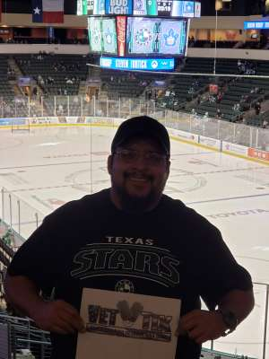 David attended Texas Stars vs Toronto Marlies - AHL on Jan 11th 2020 via VetTix