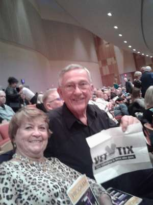 Joseph attended Masters of the Musical Theater - Celebrating Lloyd Webber, Bernstein, and More! on Jan 10th 2020 via VetTix