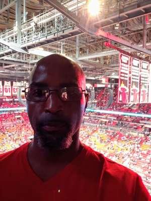 Terrence attended Miami Heat vs. San Antonio Spurs - NBA on Jan 15th 2020 via VetTix