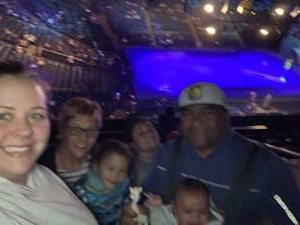 Vaai attended Disney on Ice Presents Mickey's Search Party on Feb 26th 2020 via VetTix