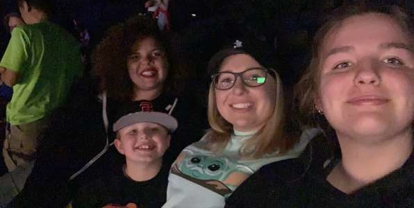 Christina attended Disney on Ice Presents Mickey's Search Party on Feb 26th 2020 via VetTix