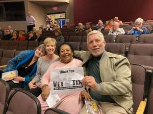 Stephen attended Shannon Wild: Pursuit of the Black Panther on Jan 23rd 2020 via VetTix
