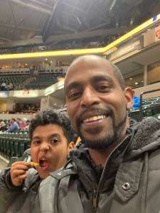 Christopher attended Indiana Pacers vs. Miami Heat - NBA on Jan 8th 2020 via VetTix