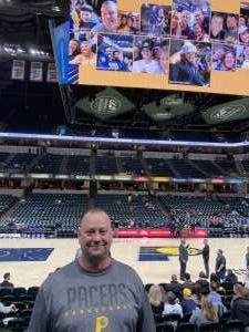 DONALD attended Indiana Pacers vs. Miami Heat - NBA on Jan 8th 2020 via VetTix