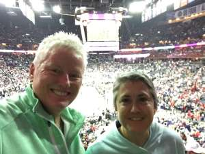 Terry attended Indiana Pacers vs. Miami Heat - NBA on Jan 8th 2020 via VetTix