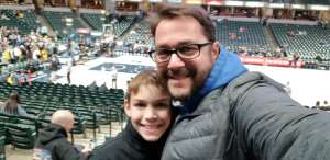 Brian attended Indiana Pacers vs. Miami Heat - NBA on Jan 8th 2020 via VetTix