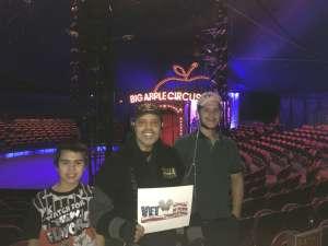 Valentin attended Big Apple Circus - Lincoln Center on Jan 9th 2020 via VetTix