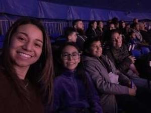 Claribel attended Big Apple Circus - Lincoln Center on Jan 9th 2020 via VetTix