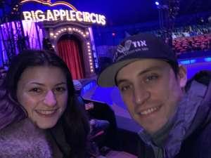 Joshua attended Big Apple Circus - Lincoln Center on Jan 9th 2020 via VetTix