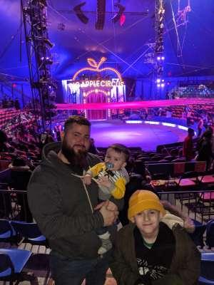 Nicole attended Big Apple Circus - Lincoln Center on Jan 9th 2020 via VetTix