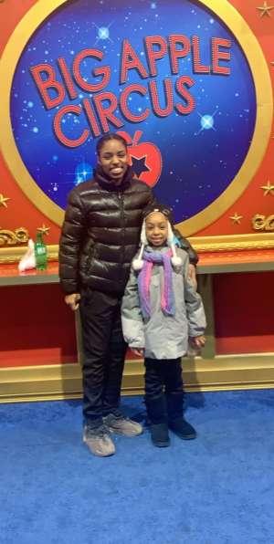 James attended Big Apple Circus - Lincoln Center on Jan 9th 2020 via VetTix
