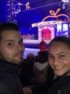 lilliana attended Big Apple Circus - Lincoln Center on Jan 9th 2020 via VetTix