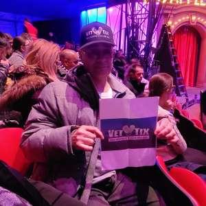 Joseph Gonzalez  attended Big Apple Circus - Lincoln Center on Jan 9th 2020 via VetTix