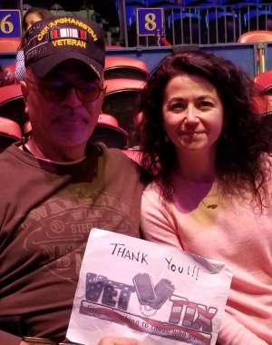 Sanchez attended Big Apple Circus - Lincoln Center on Jan 15th 2020 via VetTix