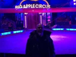 Samuel attended Big Apple Circus - Lincoln Center on Jan 15th 2020 via VetTix