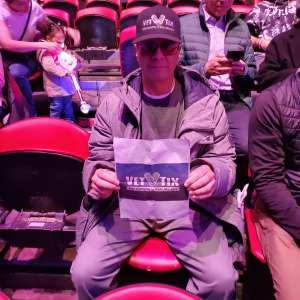 Joseph Gonzalez  attended Big Apple Circus - Lincoln Center on Jan 15th 2020 via VetTix