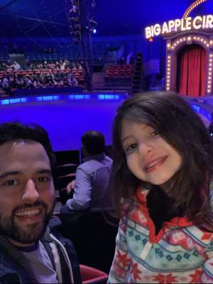 Marc attended Big Apple Circus - Lincoln Center on Jan 16th 2020 via VetTix