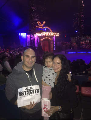 Click To Read More Feedback from Big Apple Circus - Lincoln Center