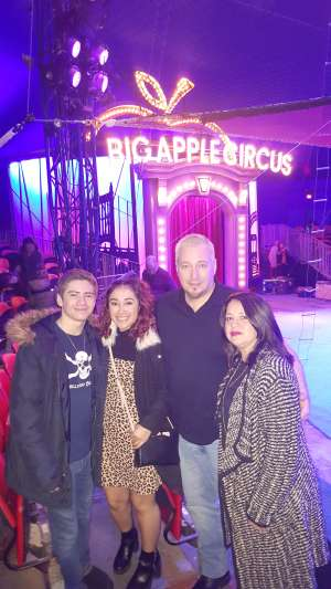 Dwaine attended Big Apple Circus - Lincoln Center on Jan 16th 2020 via VetTix