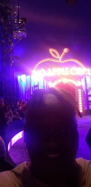 Fiora attended Big Apple Circus - Lincoln Center on Jan 16th 2020 via VetTix
