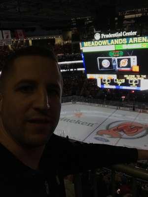 Jeremy B. attended New Jersey Devils vs. New York Islanders - NHL on Jan 7th 2020 via VetTix