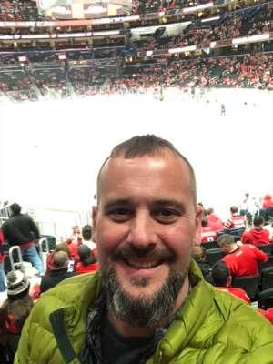 Rob attended Washington Capitals vs. Carolina Hurricanes - NHL on Jan 13th 2020 via VetTix